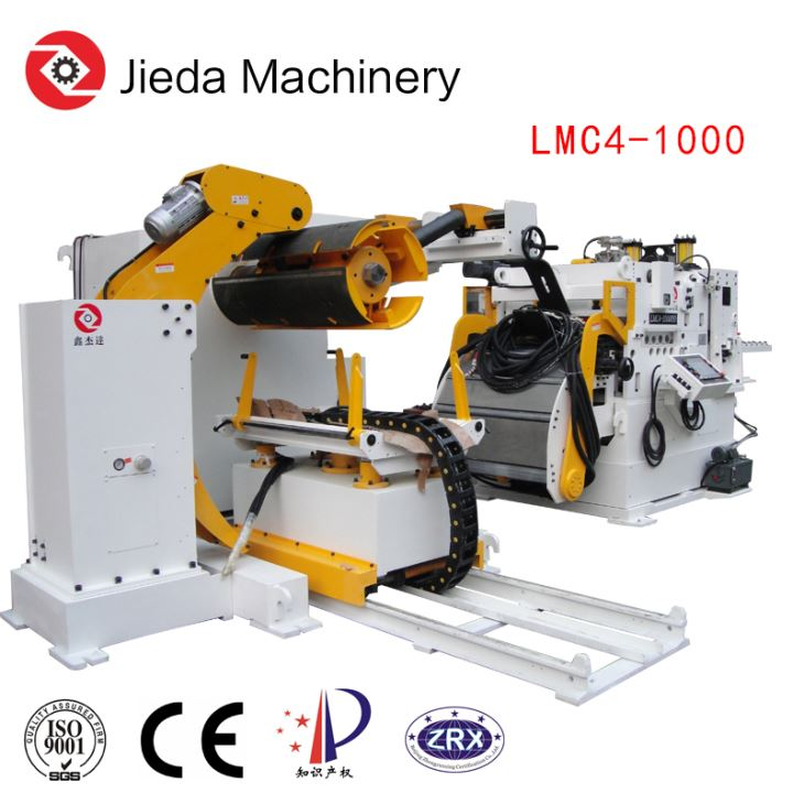 3In1 Servo Coil Feeder Machine For Thick Coil