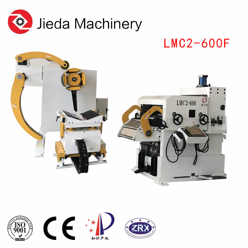 3In1 Metal Coil Feeder Machine For Auto Stacking Line
