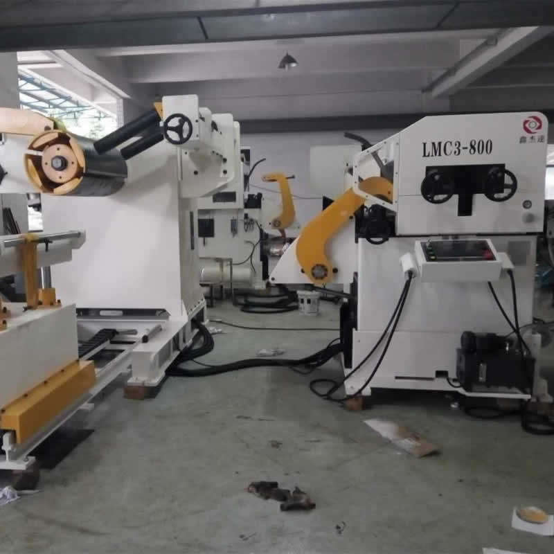 3in1 Automatic Coil Roller Feeder Machine