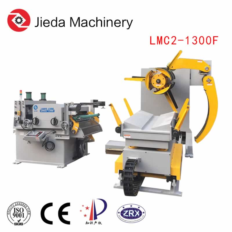 3In1 Automatic Metal Servo Coil Handling Line