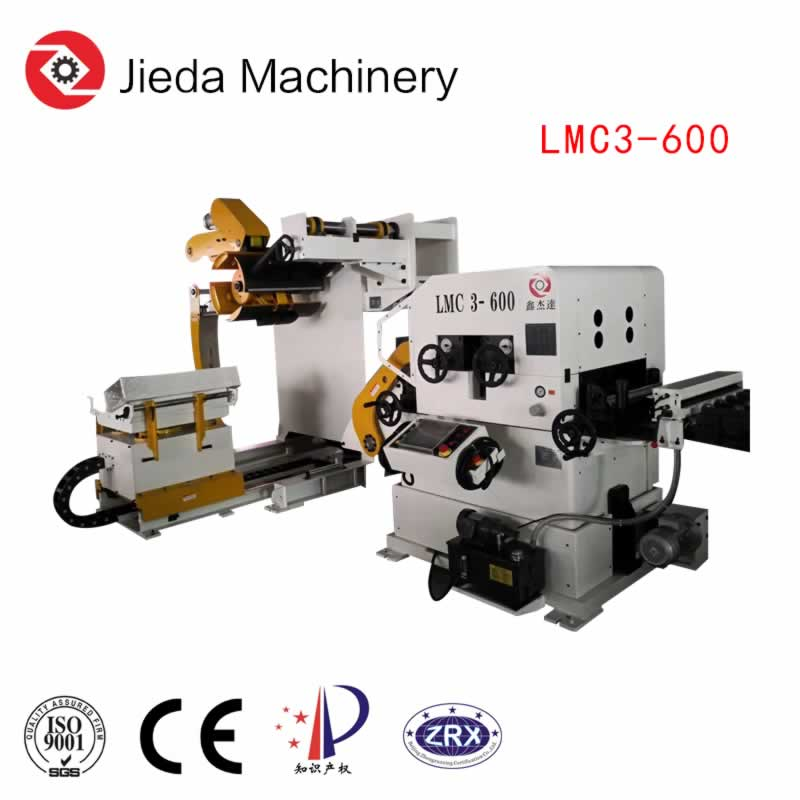 3in1 Steel Coil Feeder Straightener with Press Arm