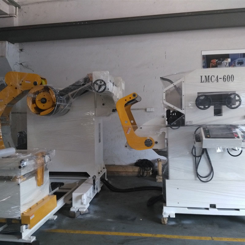 3In1 NC Servo Roll Feeder Machine For Metal Stamping