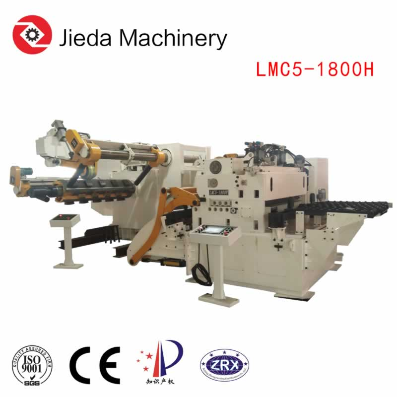 Customize Thick Coil Servo Feeder Straightener For Automobile Part