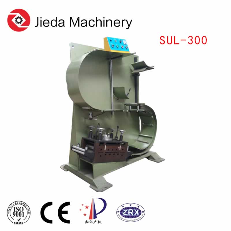 Decoiling And Straightening Machine For High Speed Line