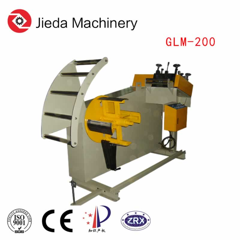 Fully Automatic Metal Sheet Roller Straightening Decoiler Machine