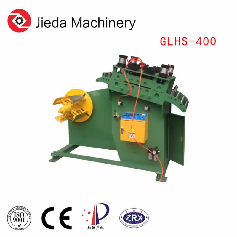 2In1 Compact Reel Strip Decoiling And Straightening Machine