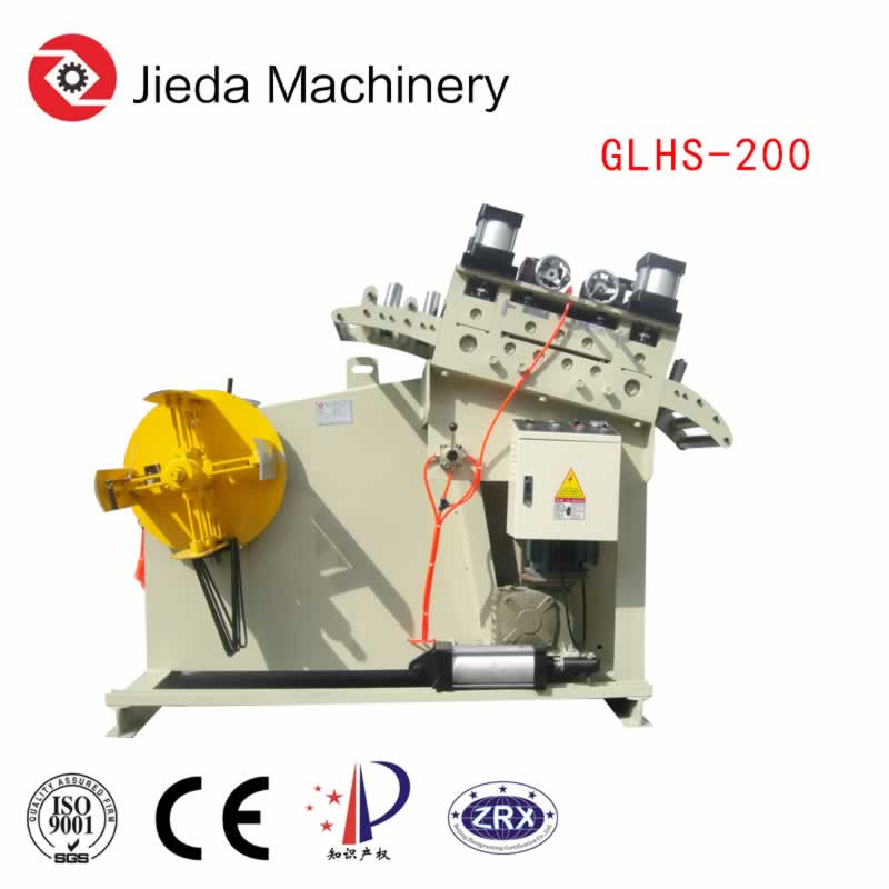 Pneumatic Straightener Machine for Thick Coil