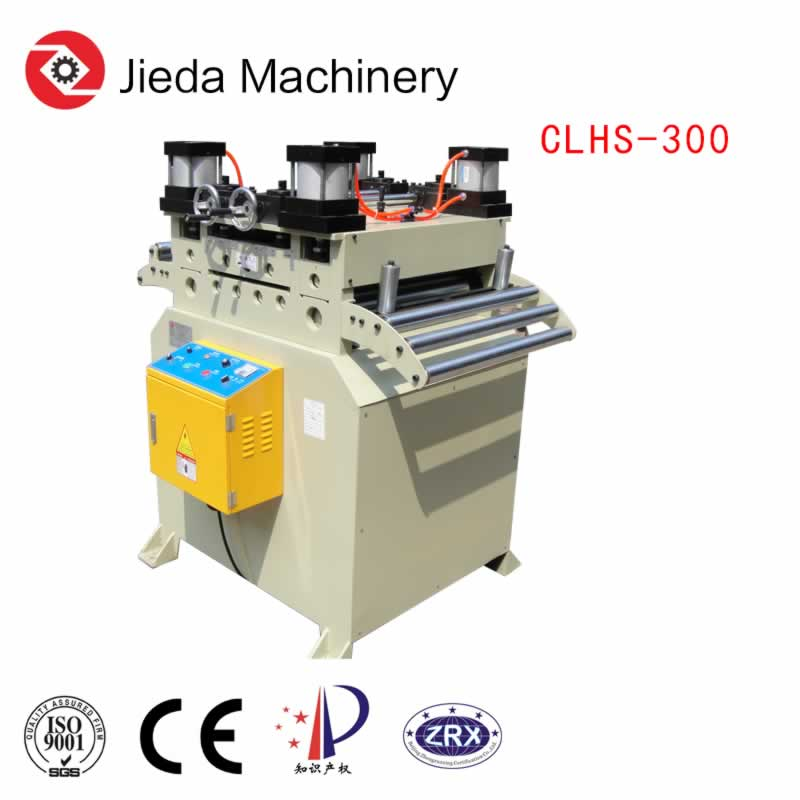 Chain Drive Thick Coil Straightener Machine For Carbon Steel