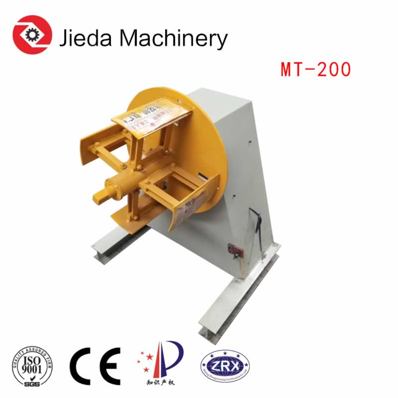 Manaul Steel Coil Uncoiler